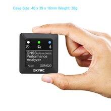 Skyrc GSM020 Gnss Prestaties Analizador de potencia Bluetooth App Gps medidor de velocidad Voor Rc auto helicóptero Fpv Drone