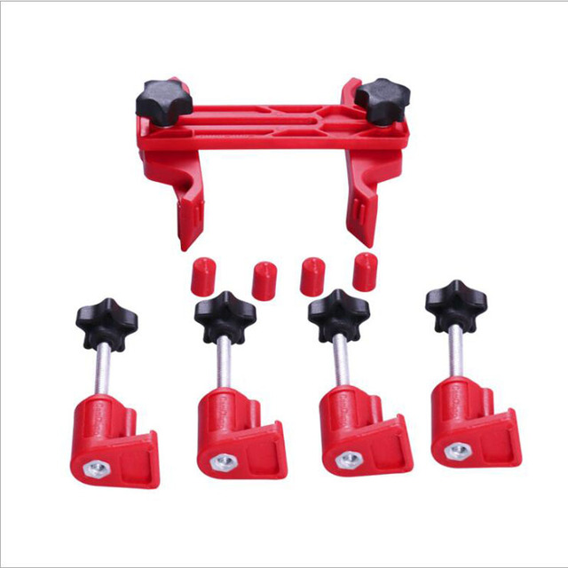 5 Pcs Universal Cam Camshaft Lock Holder Car Engine Cam Timing Locking Tool Set Pulley Retainer Hotselling