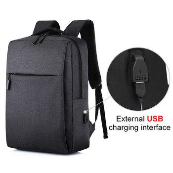 цена USB Men's Backpack Laptop Women Backpack Men Shoulder Bag Men Backpack Travel Male Leisure Backpack Mochila Business Backpack онлайн в 2017 году