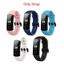 original Silicone Wrist Strap For Huawei Honor Band 4 Standard Version Smart Wristband Sport Bracelet Band honor band 4 youkex 2017 new strap for huawei honor band 3 replacemnt fashion sport silicone band 6 colors for huawei honor3 smart wristband