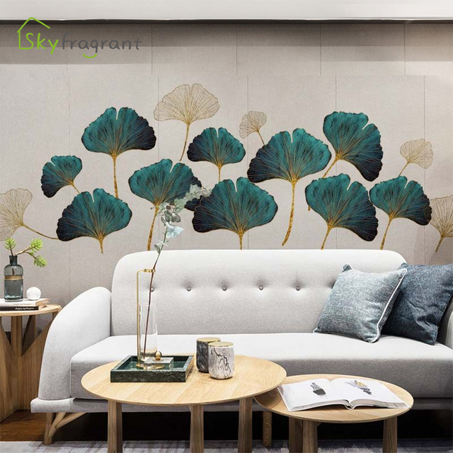 Fresh Leaves Wall Sticker Mural 2