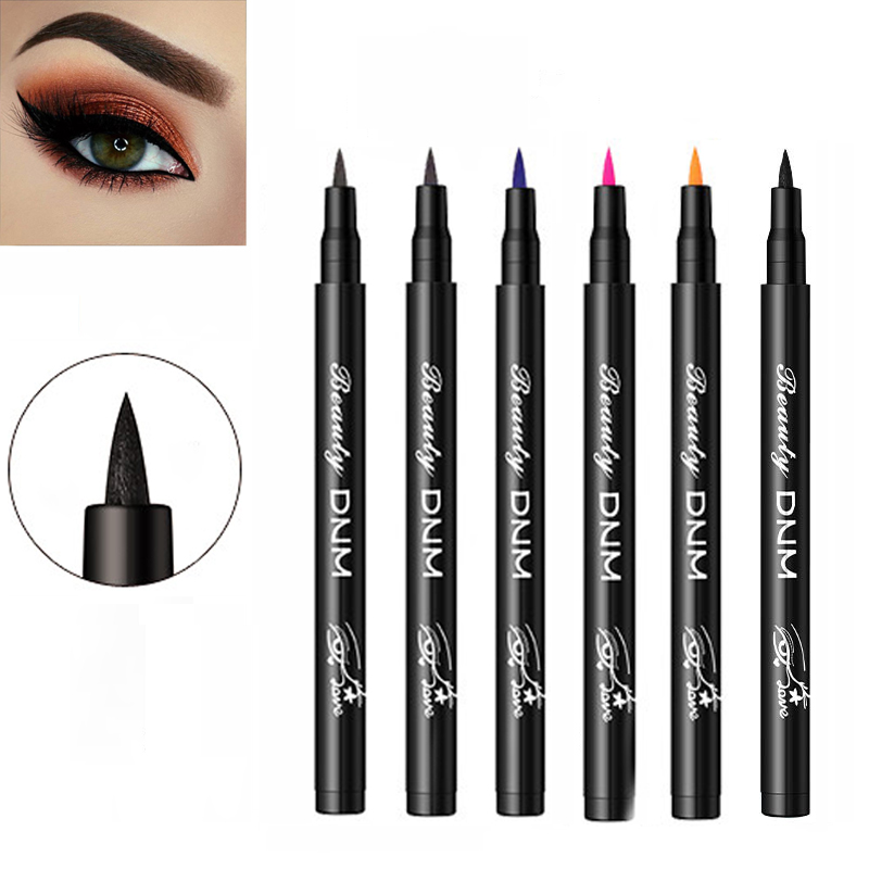 12 Colors Liquid Eyeliner Long-lasting Smudge-Proof Eye Liner Waterproof Makeup Quick-dry Cosmetics Beauty Products for Women