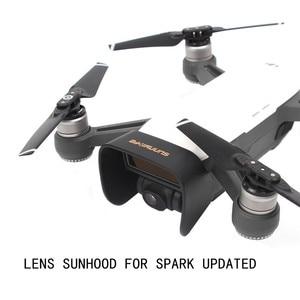Image 1 - Atualizar lente capa sunhood atualizado guarda sol proteger cardan câmera para dji faísca panaromic tiro
