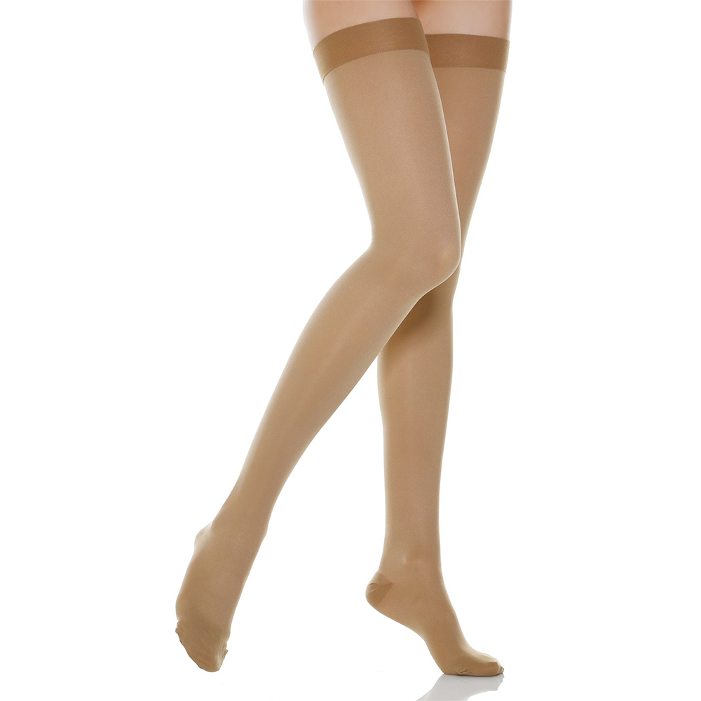 30-40 MmHg Compression Stockings Women Men Thigh High Support Socks For Medical Pain Varicose Veins,Edema,Flight,Travel