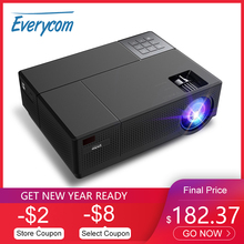 Everycom M9 CL770 Native 1080P Full HD 4Kโปรเจคเตอร์LEDระบบมัลติมีเดียBeamer 6800 Lumens HDMI * 2 auto Keystone Home Cinema