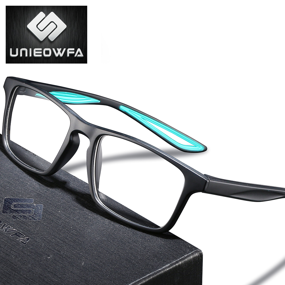Sport TR90 Prescription Eyeglasses Optical Progressive Glasses Men Photochromic Anti Blue Light Eye Glasses Clear Myopia Eyewear