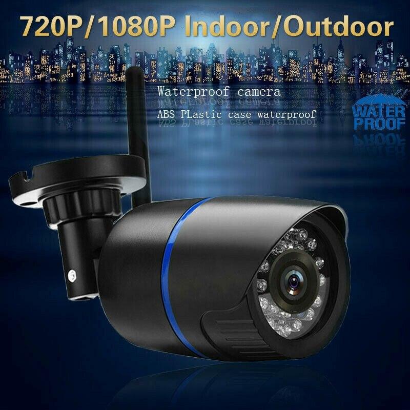 Wireless IP Camera WIFI IP Audio Camera HD IR 1080P Outdoor Security CCTV Surveillance TF Card For EU Plug
