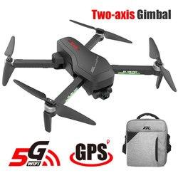 Hipac SG906 Pro Drone 4k GPS avec Caméra 2 axes Cardan Sans Balais Profissional 800M Wifi 25 Minutes RC Drone 4k Drone Quadcopter