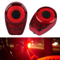 150 Lumen USB Rechargeable Waterproof LED Cycle Rear Lamp Colorful Red Bike Tail Light FH99