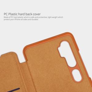 Image 3 - Caes for Xiaomi Mi Note 10/10 Pro/CC9 Pro Nillkin Qin Series PU Leather Flip Cover For Xiaomi Mi Note 10 Case