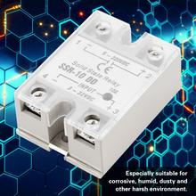 цена на Solid State Relay SSR-10 DD 10A 3-32VDC To 5-220V DC For Industrial Automation Process relay solid state
