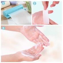 Jabón de papel portátil para lavar a mano, tipo extraíble, Antibacterial, para el hogar, al aire libre, perfumado, lámina del cuidado de la piel, jabón desechable, Mini jabón de papel