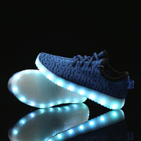 2019 Fashionable LED Light Up 39 s Tennis Casual Shoes For Men Girls Women With Charge