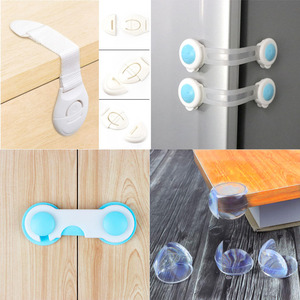TYRY.HU 5pc/10pc Child Protection Multifunction Baby Safety Door Lock Drawer Cupboard Window Protection Baby Security Products(China)