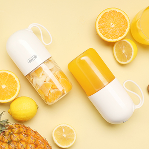 Image 2 - Deerma DEM NU01 Portable Mini Fruit Juicer Kitchen Electric Mixer Mini Capsule Shape Powerful Electric Cup