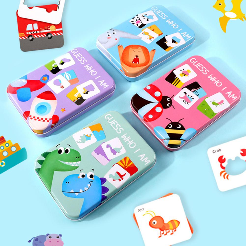 Cognitive Card Baby Toys Infant Early Head Start Training Puzzle Vehicl/Fruit/Animal/Life Set Pair Puzzle Baby Gift New Arrivals