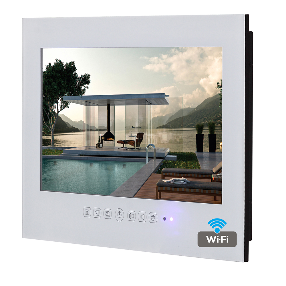 Souria Bathroom TV Led-Tv Wifi Android White Smart Waterproof 32inch Internet 1080P IP66