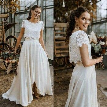 Robe de Mariage Bohème Vintage Gabrielle