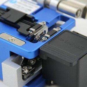 Image 3 - Hoge Precisie FC 6S Optical Fiber Cleaver Met Fiber Schroot Collector Ftth Fiber Snijden Cleaver Gratis Verzending