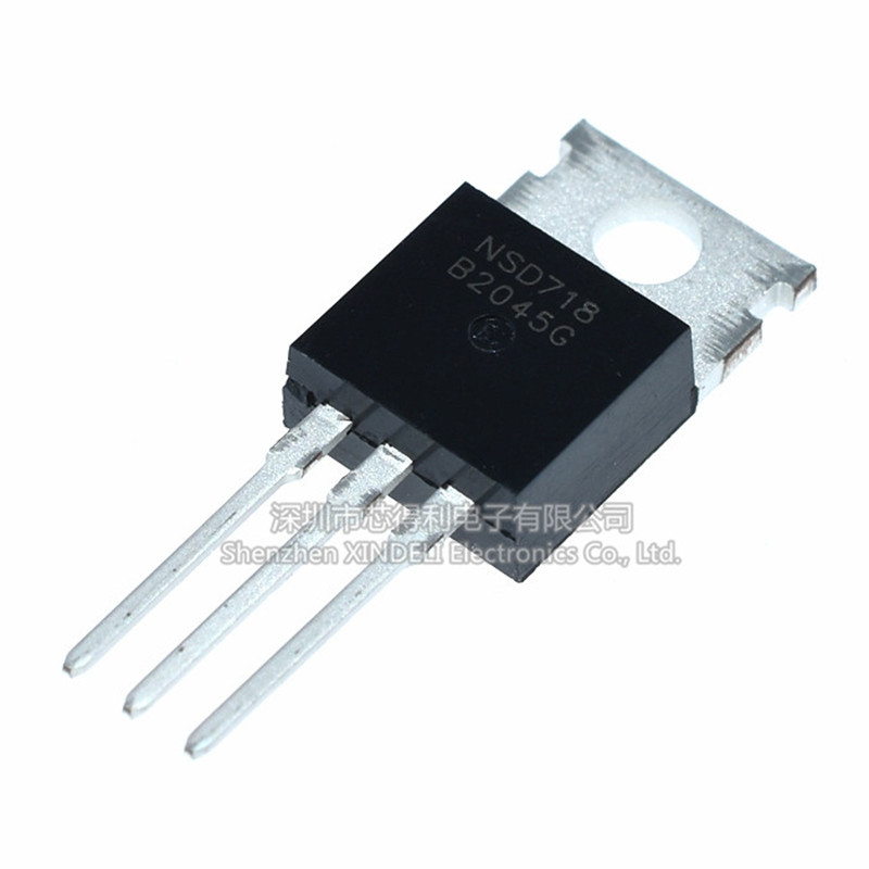 10 Pieces <font><b>MBR2045CT</b></font> TO-220 20A / 45V Diode Rectifier B2045G image