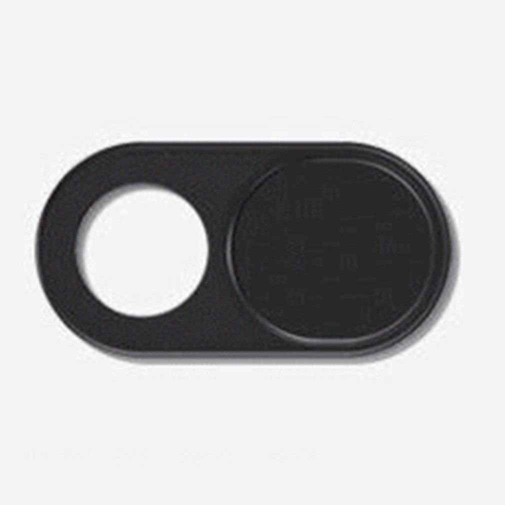 Camera Privacy Cover Universal Abs Anti Voyeur Phone Computer Lens Privacy Cover Camera Blocking Sticker Black 1 Set image