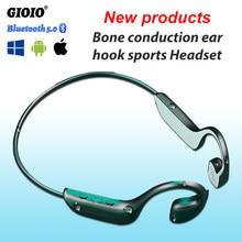 Auriculares inalámbricos TWS G100 con Bluetooth, cascos deportivos impermeables con micrófono de conducción ósea para Xiaomi, Huawei y Iphone