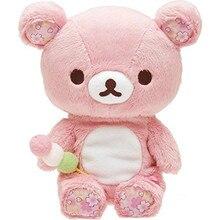 Kawaii Line Friendss плюшевые куклы, реальный подарок на день рождения, женский розовый цветок вишни, плюшевый мишка rilakkuma 20 см/36 см