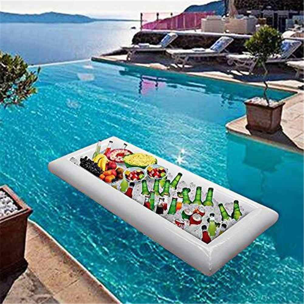 Inflatable Serving Bar Salad Buffet Ice Cooler Picnic Drink Table Party  Camping 130*50*13cm|Parts & Accessories| - AliExpress