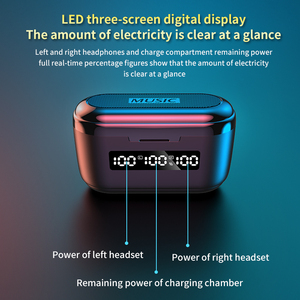 Image 3 - 3500Mah Charging Box G40 TWS Bluetooth V5.1 Earphones Mini Wireless Headphones Touch 9D Hifi Stereo Sports Dual Mic Headset Bass