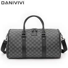 2021 New Travel Bag Men Luxury Designer Duffle Bag Large Capacity Men's Handbags Leather Weekend Tote Luggage Bag Shoes Position