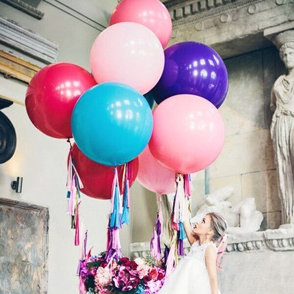 "36 /""inch géant grand grand latex ballon partie de mariage hélium Decor I"