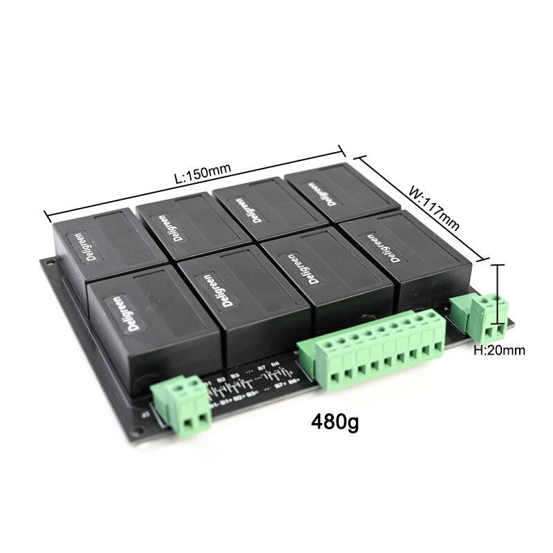 8 S/24 V QNBBM batería de litio equilibrador BMS para LIFEPO4, LTO NCM LMO 18650 DIY paquete - 2