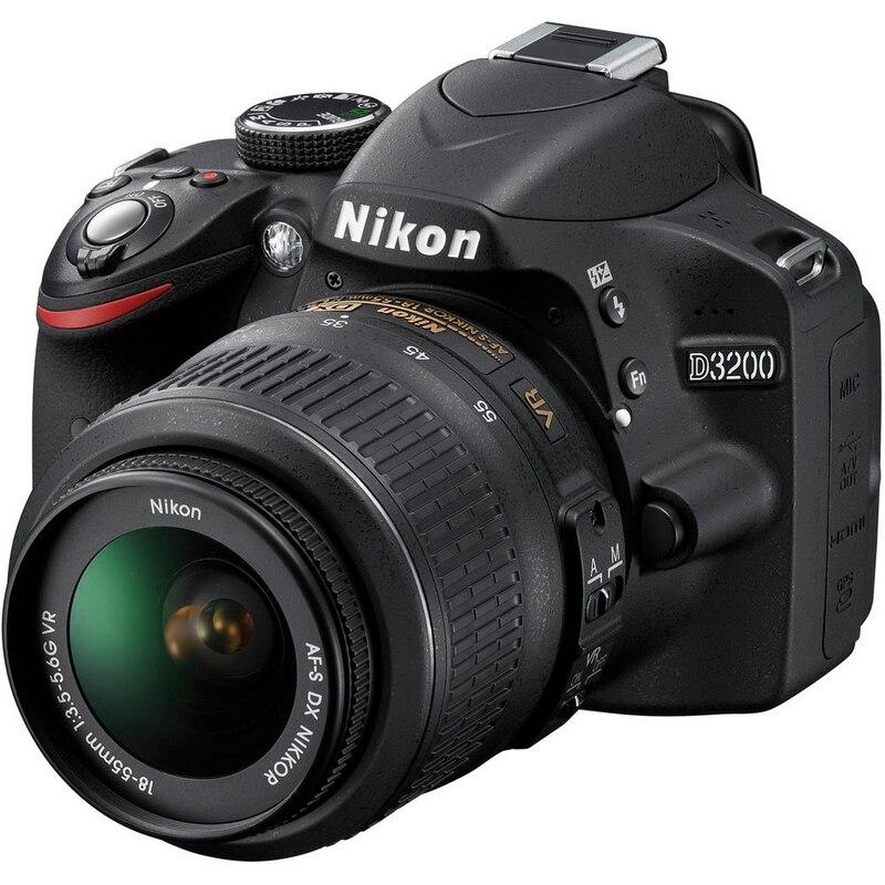Nikon D3200 DSLR Digital Camera with 18-55 Lens Kits (Brand New)