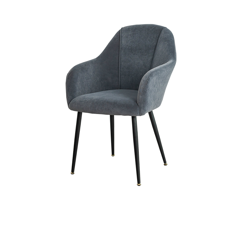 Light Luxury Northern Europe Net Red Dining Chair Domestic Stool Back Chair Modern Simple Iron Art Makeup Chair Bedroom Desk Cha