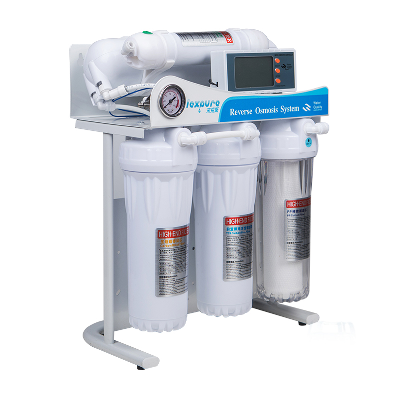 400/600gpd Water Purifier Reverse Osmosis System Pure Water Machine Reverse Osmosis Water Filter Automatic Flush Aquarium System
