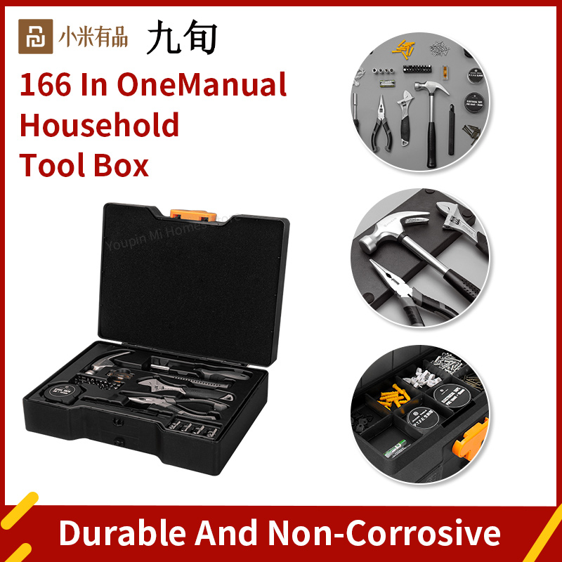 Xiaomi JIUXUN Household Routine Maintenance Kit Complete Home Repair Kit Commonly Used...