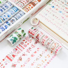 Mohamm 1Pcs Kawaii Cartoon Dekoration Band Papier Washi Masking Tape Kreative Scrapbooking Stationäre Schule Liefert