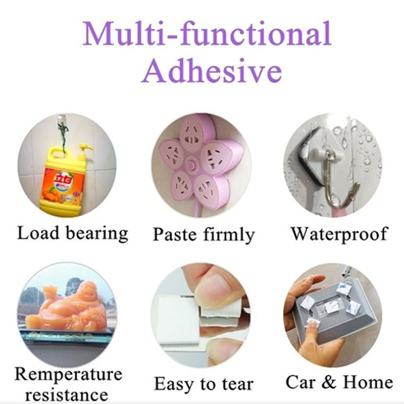 3M strong double-sided adhesive wall stickers car home improvement hardware foam sponge adhesive stickers 6