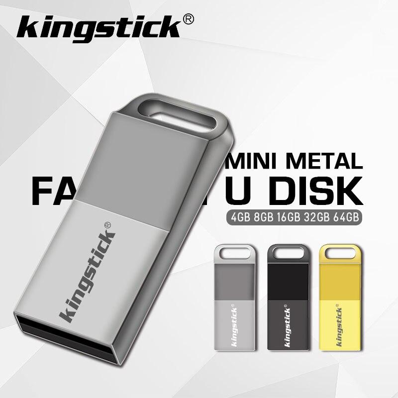 Золотой/Серебряный/черный металлический флеш-диск USB 2,0 32 Гб оперативной памяти, 16 Гб встроенной памяти, высокая Скорость флэш-накопитель 64 Г...