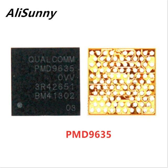 AliSunny 10pcs PMD9635 קטן כוח BaseBane PMU IC עבור iPhone 6S 6SPlus U_PMU_RF 9635 שבב חלקי