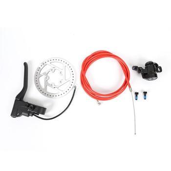 Kit de pinza de freno de Disco para patinete eléctrico, rotores de 110mm, equipo para patinete eléctrico trasero