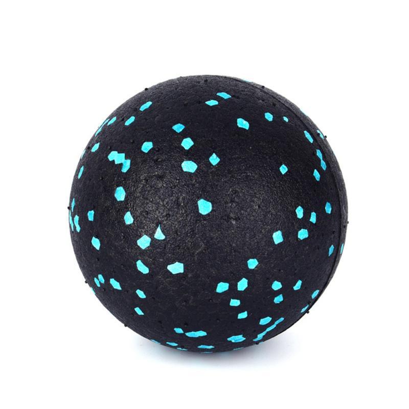 1PC 8CM High Density EPP Massage Ball Lightweight Black Fitness Training Lacrosse Ball Body Yoga Sport Exercise Unisex #ED
