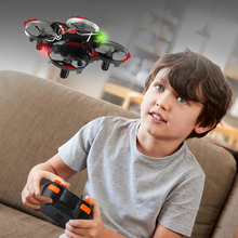 цена на Mini Remote Control Aircraft Induction Luminous Anti-fall Collision Resistant Aircraft Mini Drone Children's Toy Model Aircraft
