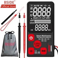 BSIDE ADMS9CL EBTN Цифровой мультиметр 3,5» ЖК-дисплей 3 он-лайн Дисплей 9999 отсчетов TRMS Авто Диапазон Напряжение постоянной ёмкости, универсальный конденсатор сопротивления диода