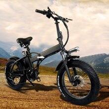 Vélo électrique pliant, 20 pouces, 30-55 km/h, 80-750 KM d'autonomie, frein à disque, recommandé, GW20 48V 15Ah, 1100 W