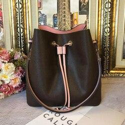 Оптовая продажа, кожаная Модная брендовая сумка на плечо, брендовая сумка, старая сумка для покупок, сумка-мессенджер, белая Сетчатая Сумка-...