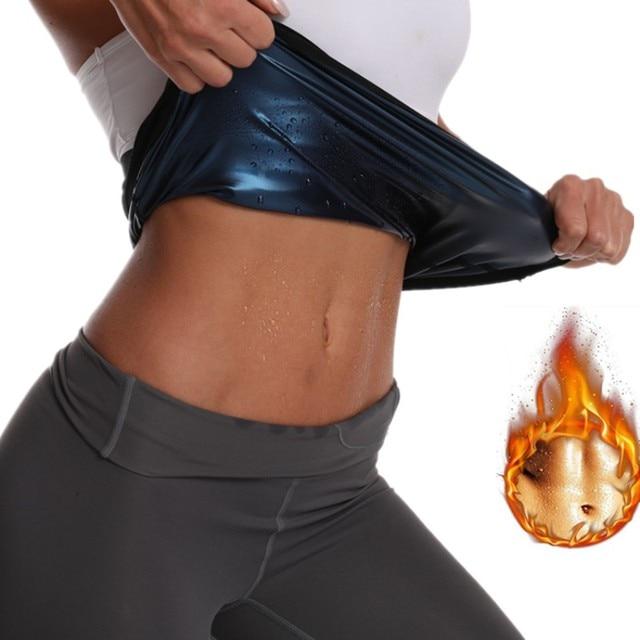 Men Women Neoprene Waist Trimmer Belt, Weight Loss Sweat Bands Tummy Sauna Sweat Belts Gym Sports Fitness Accessories