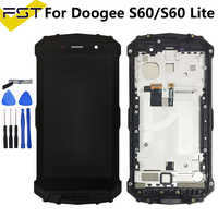 5.2'' For DOOGEE S60 LCD lcds Display+Touch Screen Digitizer Assembly With Frame For DOOGEE S60 Lite LCD Glass Panel