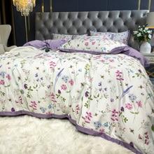 Bedding-Set Duvet-Cover Bed-Linen Queen Cotton TUTUBIRD Floral-Bloom Pastoral Princess