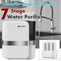 AUGIENB Reverse Osmosis Water Filtration System 7 RO Water Purifier Under Sink Water Filter + Faucet for Lead Arsenic